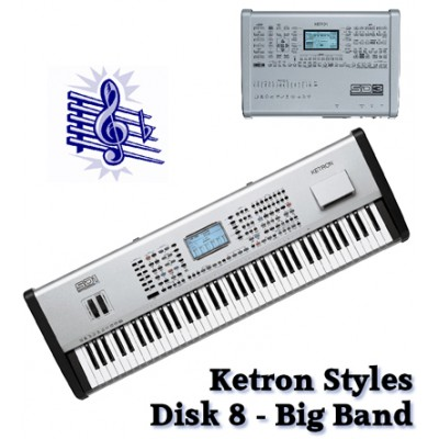 Big Band - Ketron Blue Styles Disk 8