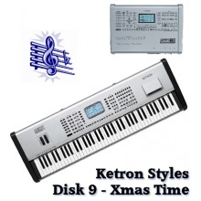 Xmas Time - Ketron Blue Styles Disk 9