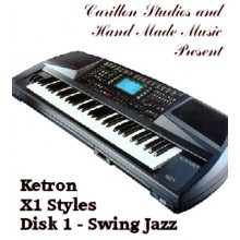 Swing and Jazz - Ketron Red Styles Disk 1
