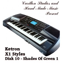 Shades Of Green Vol 1 - Ketron Red Styles Disk 10