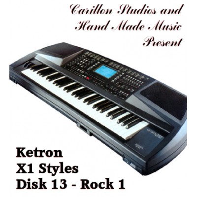 Rock 1 - Ketron Red Styles Disk 13