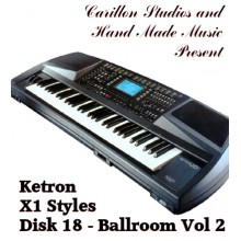 Ballroom Vol 2 - Ketron Red Styles Disk 18