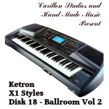 Ballroom Vol 2 - Ketron Red Styles Disk 18