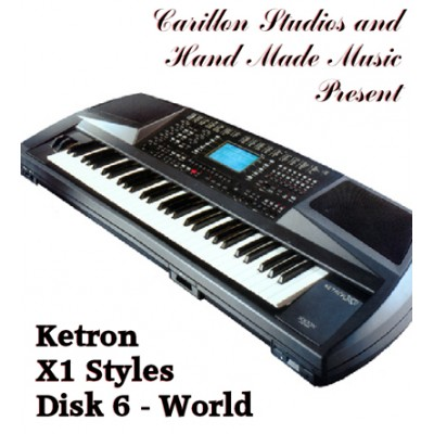 World - Ketron Red Styles Disk 6