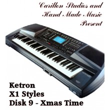 Xmas Time - Ketron Red Styles Disk 9