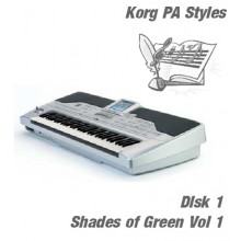 Shades of Green - Korg Silver Style Disk 1