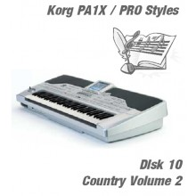 Country Vol 2 - Korg Silver Style Disk 10