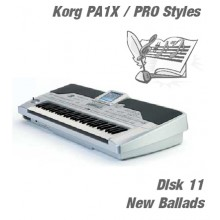 New Ballads - Korg Silver Style Disk 11
