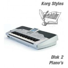 Piano's - Korg Silver Style Disk 2