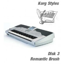 Romantic Brush - Korg Silver Style Disk 3