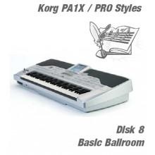 Basic Ballroom - Korg Silver Style Disk 8