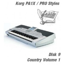 Country Vol 1 - Korg Silver Style Disk 9