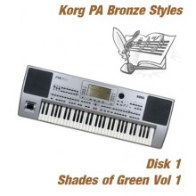 Shades of Green - Korg Bronze Style Disk 1