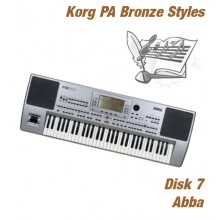 Abba - Korg Bronze Style Disk 7