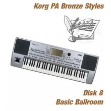 Basic Ballroom - Korg Bronze Style Disk 8
