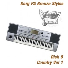 Country Vol 1 - Korg Bronze Style Disk 9