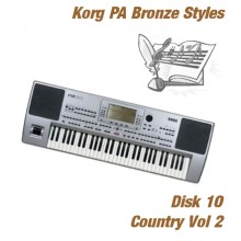 Country Vol 2 - Korg Bronze Style Disk 10