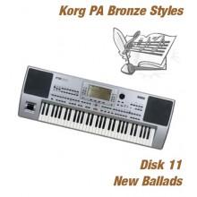 New Ballads - Korg Bronze Style Disk 11
