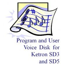 Ketron Sound Disk - SD3/SD5