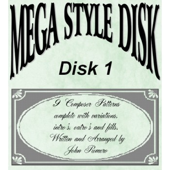Mega Style Disk 1 - Technics Style Disk 1