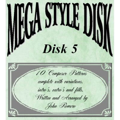 Mega Style Disk 5 - Technics Style Disk 5