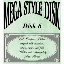 Mega Style Disk 6 - Technics Style Disk 6