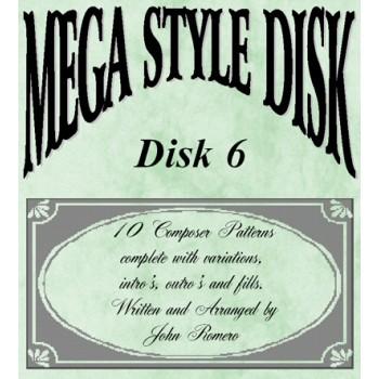 Mega Style Disk 6 - Technics Style Disk 6