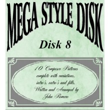 Mega Style Disk 8 - Technics Style Disk 8
