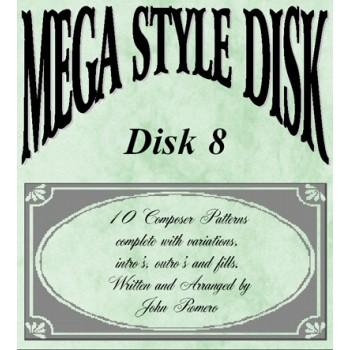 Mega Style Disk 8 - Technics Style Disk 8