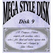 Mega Style Disk 9 - Technics Style Disk 9