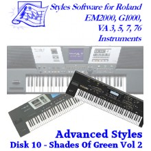 Shades of Green Volume 2 - Roland Advanced Styles Disk 10