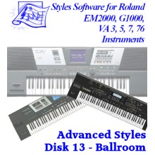 Ballroom - Roland Advanced Styles Disk 13