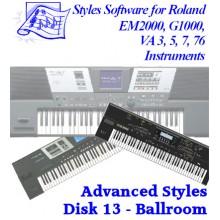 Ballroom - Roland Advanced Styles Disk 13