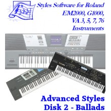 Ballads - Roland Advanced Styles Disk 2