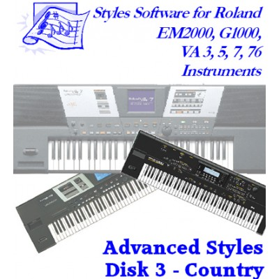 Country - Roland Advanced Styles Disk 3