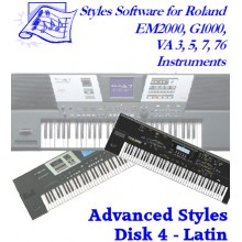 Latin - Roland Advanced Styles Disk 4