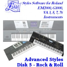 Rock 'n Roll - Roland Advanced Styles Disk 5