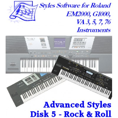 Rock 'n Roll - Roland Advanced Styles Disk 5