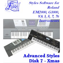 Xmas - Roland Advanced Styles Disk 7