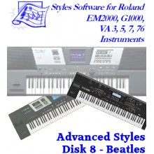 Beatles - Roland Advanced Styles Disk 8