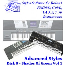 Shades of Green Volume 1 - Roland Advanced Styles Disk 9