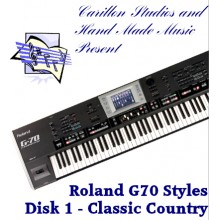 Classic Country - Roland Professional Styles Disk 1