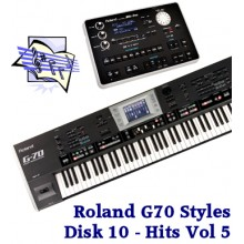 Hits Volume 5 - Roland Professional Styles Disk 10