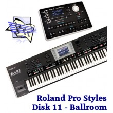 Ballroom - Roland Professional Styles Disk 11
