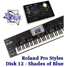 Shades Of Blue - Roland Professional Styles Disk 12