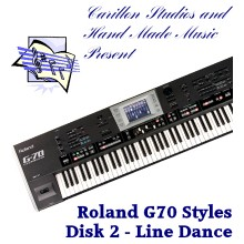 Line Dance - Roland Professional Styles Disk 2