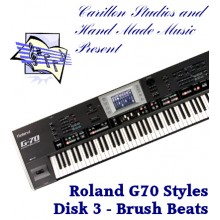 Brush Beats - Roland Professional Styles Disk 3