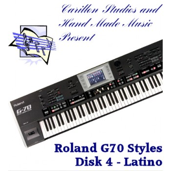 Latino - Roland Professional Styles Disk 4