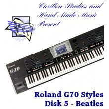 Beatles - Roland Professional Styles Disk 5
