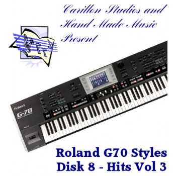 Hits Volume 3 - Roland Professional Styles Disk 8